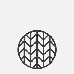 존덴마크 존 파인 팟홀더 실리콘 냄비받침 - 블랙