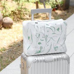 미스 플라워 마른꽃 트래블백 2color