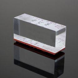 [맞춤제작] 고투명 아크릴스탬프(직사각:15x45mm)