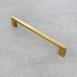 골드 가구손잡이 사각티타늄 골드손잡이 224mm