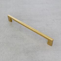 골드 가구손잡이 사각티타늄 골드손잡이 256mm