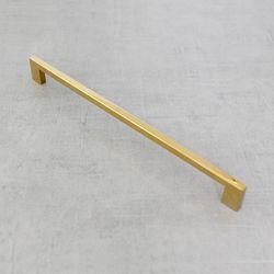 골드 가구손잡이 사각티타늄 골드손잡이 320mm
