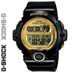CASIO 지샥 BG-6901-1 베이비지 BABY-G 흑금 디지털 시계