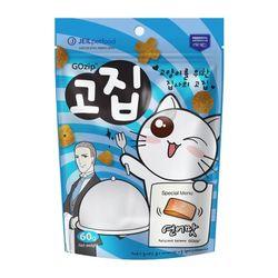 고집 고양이 간식 연어맛 60g