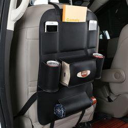 차량용 뒷자석 멀티수납포켓 컵홀더/시트백
