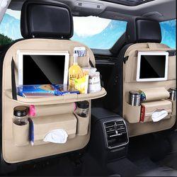 차량용 뒷자석 멀티수납포켓 테이블/시트백