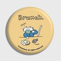 Brunch cat-Creamyellow(거울)