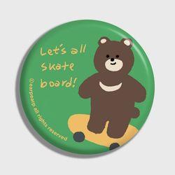 Board bear-green(거울)