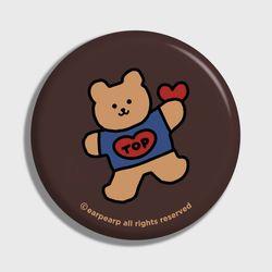 Bear heart-brown(거울)