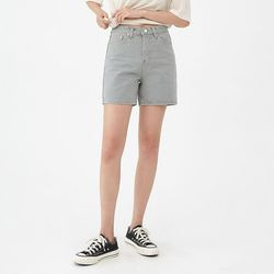 gray cotton short pants (s m l)