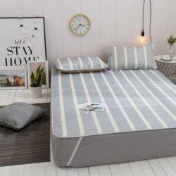 포리온 침대커버 세트(그레이)
