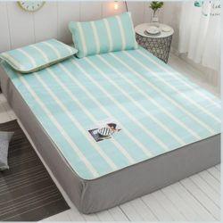 포리온 침대커버 세트(민트)