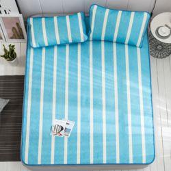 포리온 침대커버 세트(블루)