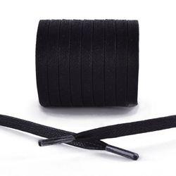 코르돈 왁싱 플랫 슈레이스(운동화끈) BLACK