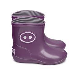 Kawai rain shoes purple (BK-06)