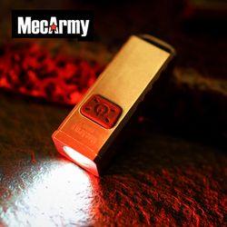 맥아미 530루멘 충전식 키체인랜턴SGN1 그레이