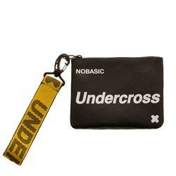 [UNDERCROSS] 핸드 스트랩 파우치 블랙