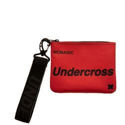 [UNDERCROSS] 핸드 스트랩 파우치 레드
