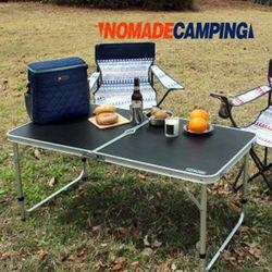 노마드 휴대용접이식테이블(The BLACK)캠핑테이블
