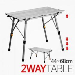 노마드 900 AL 롤테이블-높이조절(4468cm)캠핑테이블