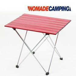 노마드 알루미늄 롤 테이블 7단-레드캠핑테이블