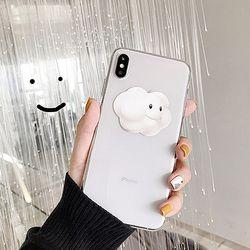 [아이폰] 구름 둥둥 클리어 케이스