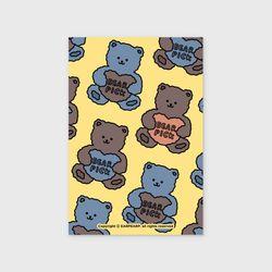 Bear pick-creamyellow(엽서)