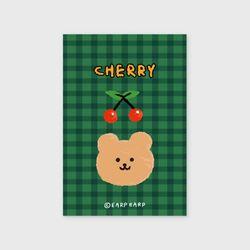 Cherry bear-green(엽서)