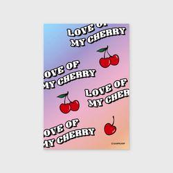 Love cherry(엽서)