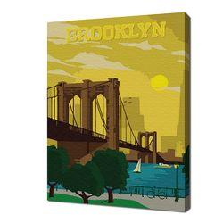 [명화그리기]2030 미니여행-브루클린 15색 일러스트