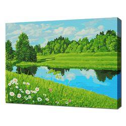 [명화그리기]4050 에이번리마을-브라이트강의 여름 23색 풍경