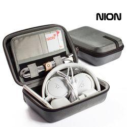 NION 디지털파우치 그레이 M 사이즈
