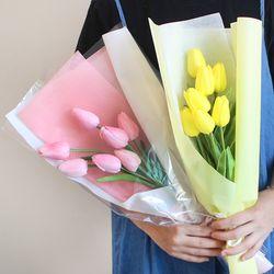 망고 튤립 조화 꽃다발 2color