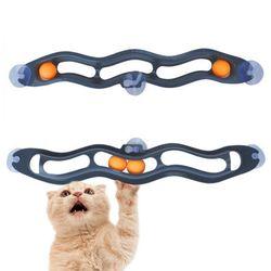 펫디아 고양이 창문 공놀이 장난감