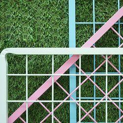 델라카사 스틸 프레임 휀스망 (W1200 x H1500)  색상6종 택1