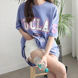 UCLA 루즈핏 박스 티
