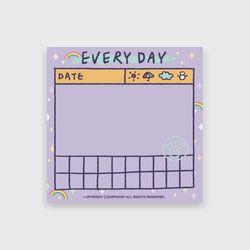 Every day(떡메모지)
