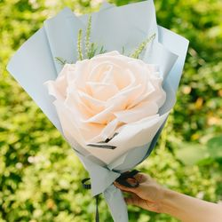 비에비 스펀지 꽃다발(중)-스펀지꽃