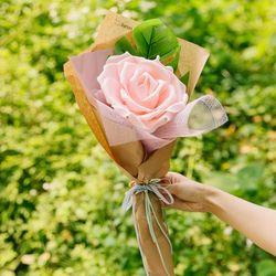 비에비 스펀지 꽃다발(소)-스펀지꽃