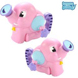 목욕놀이 아기 코끼리 핑크 물펌프 샤워기 물놀이 장난감