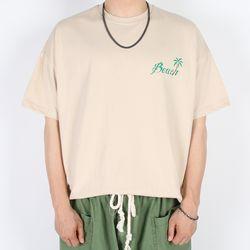 비치 반팔 티셔츠 (3color)