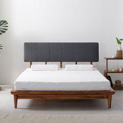 베네치아 아카시아 원목 침대 프레임 퀸