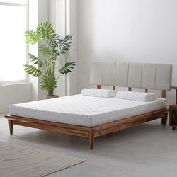 라노체 유럽라텍스 베네치아 아카시아 원목 침대 퀸