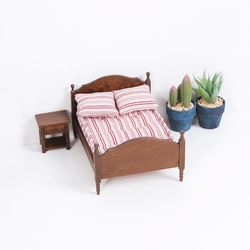 아그네스 빈티지 침대 세트 미니어처