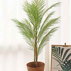 10cm 리얼 아레카 야자나무 화분 - 인테리어조화나무