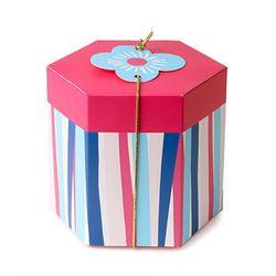 꽃 염색 담은 상자 (2개)