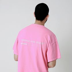Connect Pigment Over Tee Pink