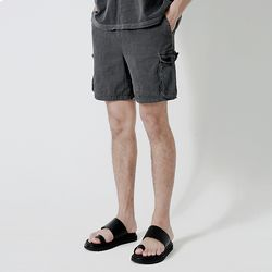 Pigment Cargo Short Pants Dark gray