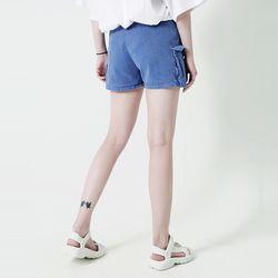 [WM]Pigment Cargo Short Pants Indigo blue