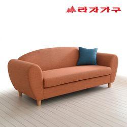 바잔 패브릭 쇼파 3인용-쿠션 포함